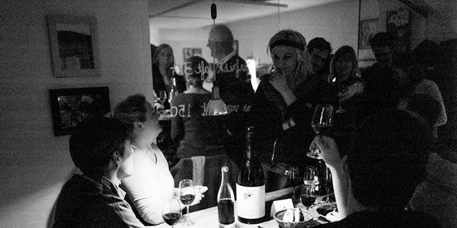 Den vandrette vinbar i København