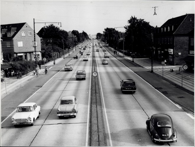 Lyngbyvejen, 2. september 1965