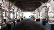 Stenloftet -en del af udstillingen Kongernes Lapidarium i Christian 4.s Bryghus. Foto: Thorkild Jensen.