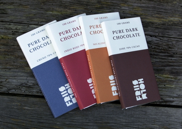 Verdensklassechokolade fra Friis-Holms chokoladefabriks håndværksproduktion, der bygger på både fairtrade og bæredygtighed. Du kan opleve hvordan. Foto: Friis-Holm.