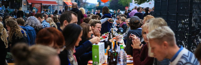 Copenhagen Cooking gentager succes med høstfest og langbord i gaden.
