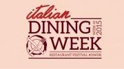 italian dining week