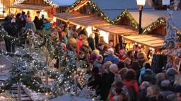 Det tyske julemarked på Højbro Plads.
