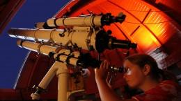 Stjernekig i Rundetårns observatorium.