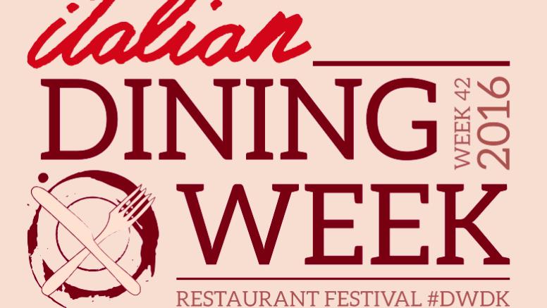 Italian Dining Week 2016