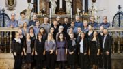 Trinitatis Kantori synger kor ved Händels Messias i Trinitatis Kirke.
