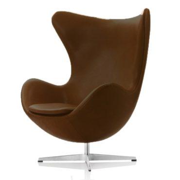 Foto: Arne Jacobsens verdensberømte stol Ægget.