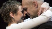Troels Lyby og Sarah Boberg i Vrede i Folketeatret