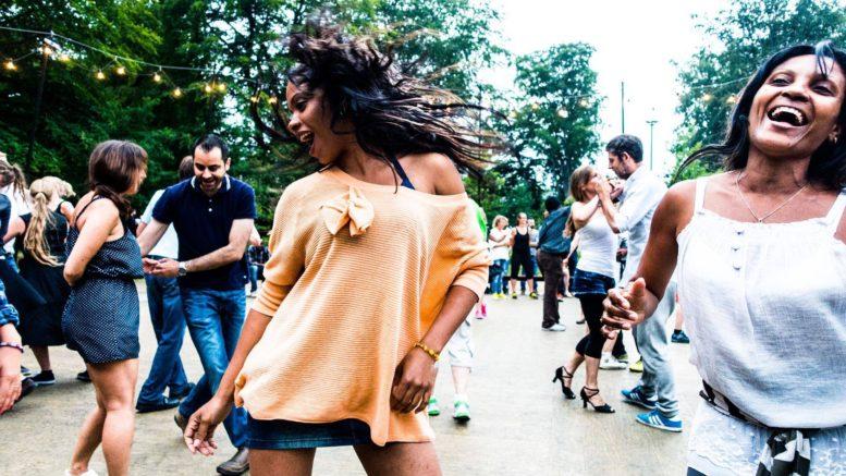 Sommerdans i Fælledparken