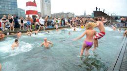 Vinterbadning i København