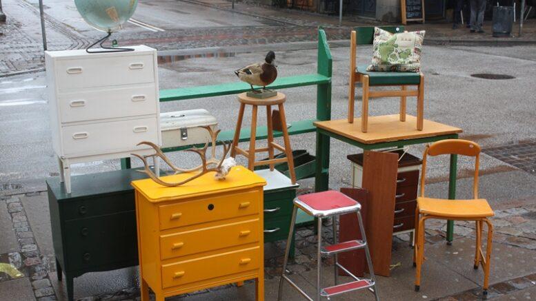 Loppemarked i Ravnsborggade