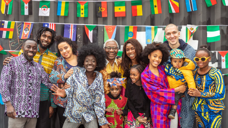 Afrikansk festival og marked