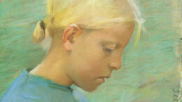 Anna Ancher - Pige med Blomst